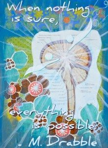 Live in Possibility -- original artwork by Laura Koniver, MD