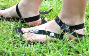 grounded sandals