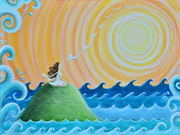 Spirituality matters... that's why I painted this painting!